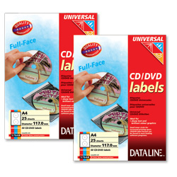 Dataline CD/DVD Labels - etikety na CD/DVD