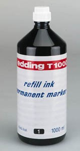 Inkoust permanentní UV edding e-T1000 - refill ink permanent UV